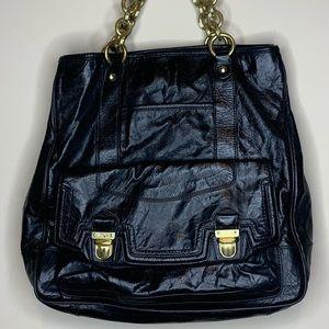 EUC Coach Black Leather Shoulder bag